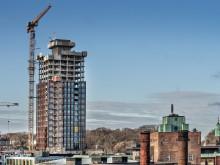 ZÜBLIN erreicht volle Höhe beim Bau von zwei 80 m hohen Gebäuden in Kopenhagen