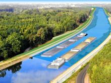 Ausbau der Havel-Oder-Wasserstraße stärkt die Binnenschifffahrt