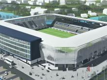 ARGE aus ZÜBLIN und Implenia errichtet Rohbau für Fußballstadion in Jena