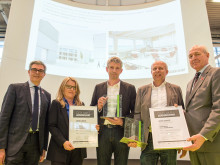 ZÜBLIN Timber receives special prize in GEPLANT+AUSGEFÜHRT competition for school gym in Diedorf, Bavaria