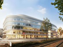 STRABAG Real Estate feiert Grundsteinlegung für NEW OFFICE Düsseldorf