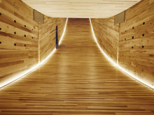 ZÜBLIN Timber supplies LENO® CLT elements to present 'The Smile' at London Design Festival 2016