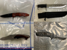 Officers seize knives hidden in car lining following stop in London Fields