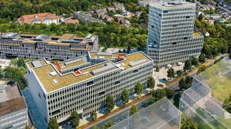 Das IQWIG zieht ins linke Gebäude des Deutzer Büroensemble MATTES & DÜXX.   Bildnachweis: HH Vision für SRE