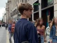 Appeal following assault on Oxford Street