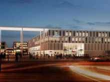 New neighbourhood complex takes shape: ZÜBLIN hands over extension of Riem Arcaden in Munich