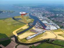 Offshore-Terminal Bremerhaven (OTB) Luftbild