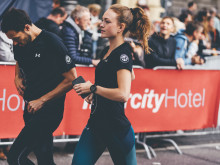 Beim ersten Stadtlauf 1979 im Färbergraben gingen knapp 1.000 Läufer an den Start.