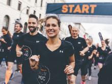 Die Läuferinnen und Läufer feierten den Jubiläums-RUN in München.