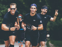 Der erste Startschuss für den SportScheck RUN 2018 in Frankfurt fällt am Sonntagvormittag um 10:30 Uhr für die 10-km-Läufer.