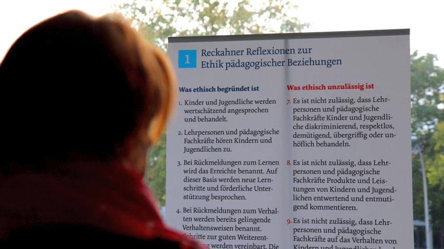 """Ausstellung   Vernissage gibt Einblicke in die """"Reckahner Reflexionen"""""""