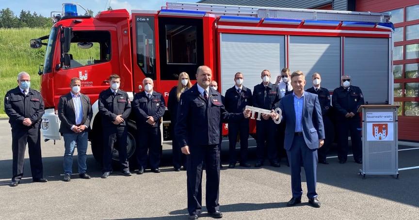 Ein neues Einsatzfahrzeug für die Löschgruppe BPW der Feuerwehr Wiehl