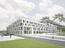 Richtfest auf Thüringens größter Baustelle: Neubau der Uniklinik Jena geht in die nächste Phase