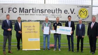 BEP Oberfranken 2021_Preisverleihung_Martinsreuther_Vereine