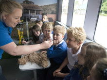 Comrie pupils get a lesson with fibre broadband