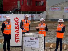 Bauen in eigener Sache: STRABAG legt Grundstein für Erweiterungsbau in Nörvenich