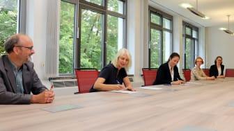 BERGVINK | Unterzeichnung Zielvereinbarung