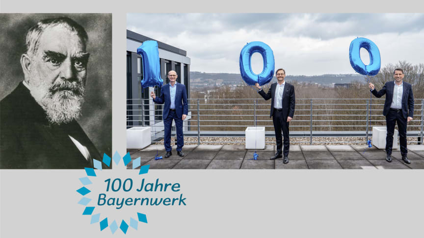 Der Blick nach vorn ist auch ein Blick zurück - Vor genau 100 Jahren wurde das Bayernwerk auf Initiative von Oskar von Miller gegründet.