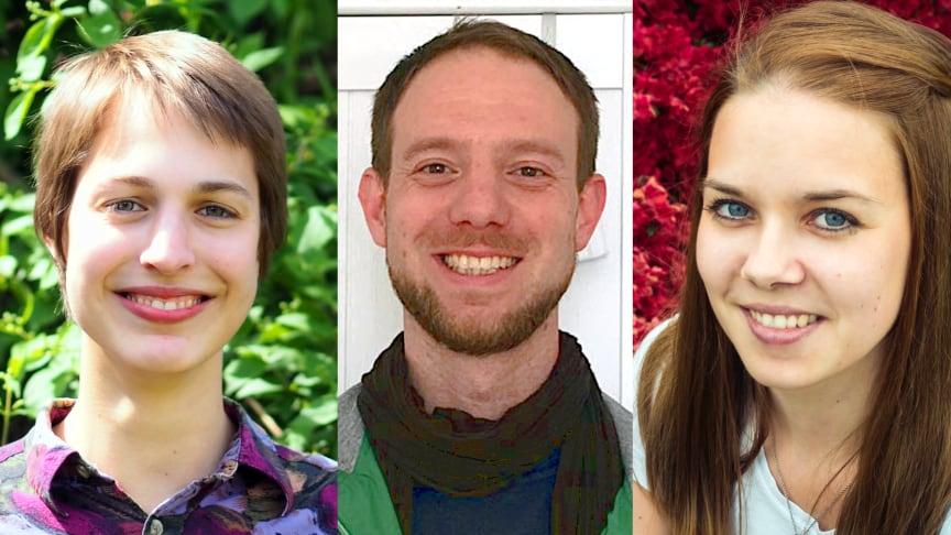 Unter anderem Laura Bischoff (l.), Nils Freye und Carolin Block gehören zu den ausgezeichneten Studierenden.