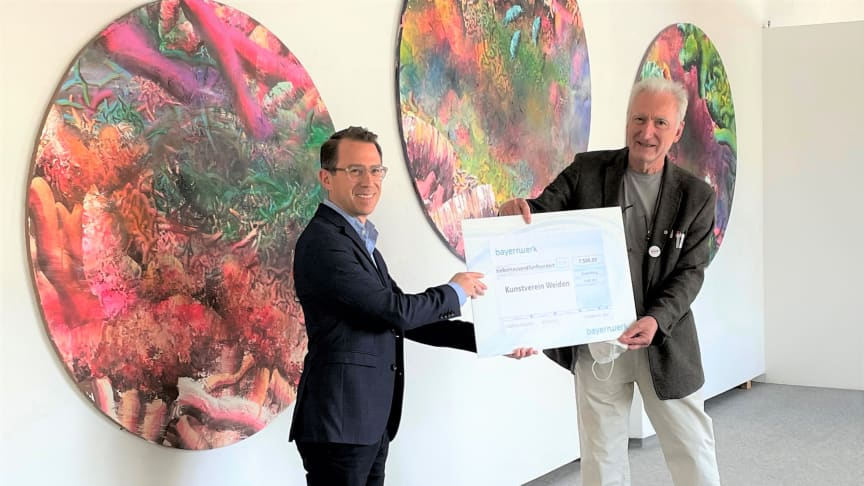 Bayernwerk unterstützt Kunstverein Weiden