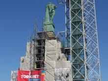 TORKRET, repair works, Hercules statue, Kassel
