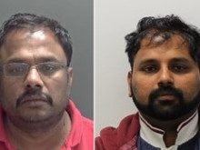 Two jailed for money laundering offences