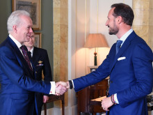 Crown Prince of Norway receives Honorary Degree from Northumbria University