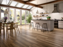 Villeroy & Boch Tiles new products 2016 - TUXEDO: inspired by luxurious hardwood with a fine grain