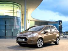Ford B-MAX er mest solgt i sin klasse i Europa og i Norge