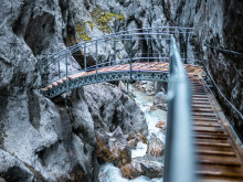 ZÜBLIN completes new bridge and walkways in Höllentalklamm Gorge