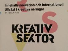 Kreativ Sektor: ny studie och nytt nätverk