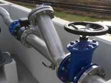 Pump i den nya pumpstationen i Tågarp