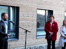 Offisiell åpning, Kringsjå Studentby, Vetle Bo Saga, åpning av Kringsjå Studentby