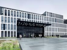 Visualisierung neues Konzernhaus in Köln