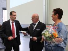 Prof. Dr. László Ungvári ist Ehrenbürger der Hochschulstadt Wildau