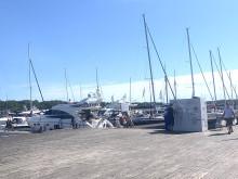 Kungliga Svenska Segel Sällskapet och Bluewater samarbetar för att spara på Sandhamns vattenresurser