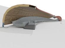 Modernisation of Oberhof bobsleigh, luge and skeleton track: ZÜBLIN Timber in charge of complex timber construction