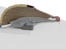 Modernisierung der Rennschlittenbahn in Oberhof: ZÜBLIN Timber baut komplexe Holzkonstruktion