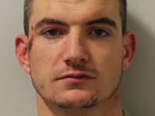 Man jailed after ramming car into police vehicles