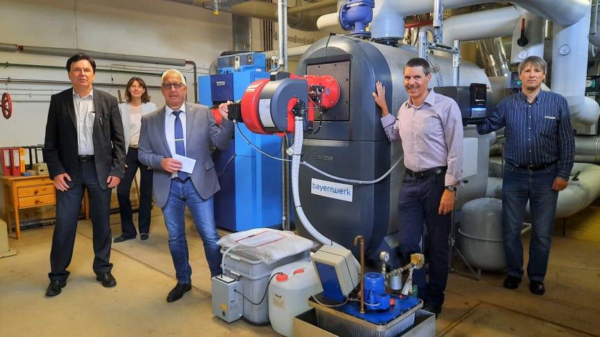 Grünes Wärmenetz für Arzberg - Modernisierung der Fernwärme in Arzberg abgeschlossen