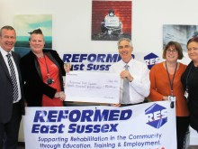 Grant will help reformed offenders in East Sussex rebuild their lives