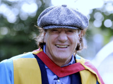 AC/DC rock singer becomes Doctor of Music