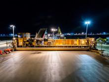 STRABAG saniert Schnell-Rollbahnen: 140 Nachtschichten am Frankfurter Flughafen