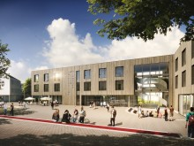 Witten/Herdecke University opts for timber in new campus building