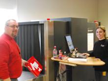 Jetpak har egen X-Ray maskine