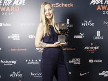 Kickboxing World Champion Hanna Hansen gewinnt den Award in der Kategorie MULTITALENT