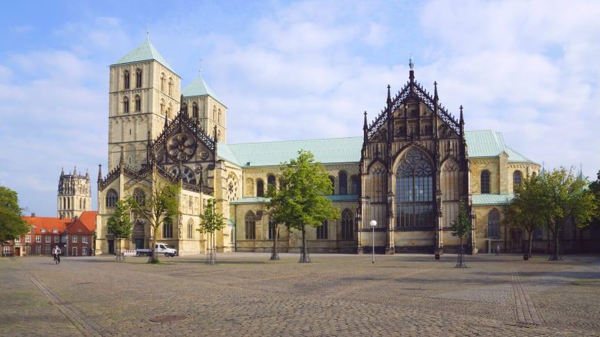 Domplatz in Münster. (Foto: Wolfgang Pehlemann)