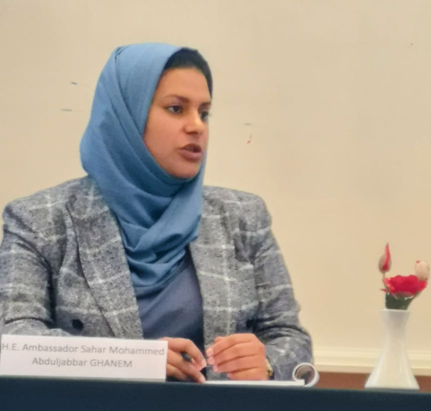 Jemens ambassadör Sahar Mohammed Abduljabbar Ghanem