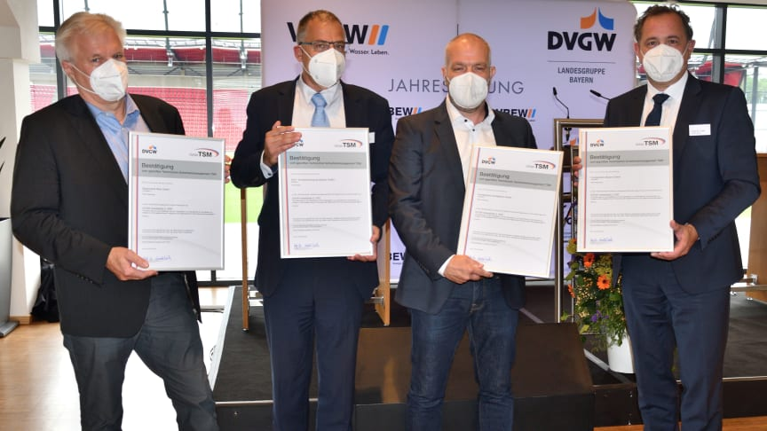 Gasnetz des Bayernwerks neu zertifiziert – Prüfung fand erstmals virtuell statt