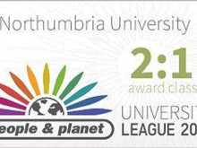 Northumbria University awarded 2:1 in environment and ethics university rankings